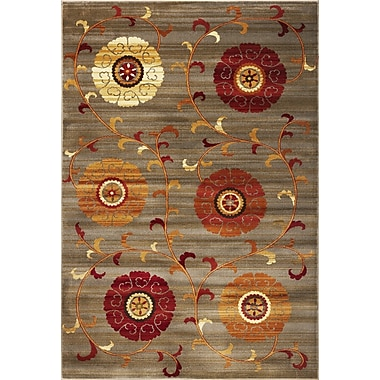 KAS Rugs Lifestyles Whimsy Area Rug; Round 5'3''