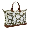 Amy Butler Meris Cotton Gym Duffel; Tropicali Tea Leaf