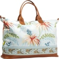 Amy Butler Meris Cotton Gym Duffel; Paradise