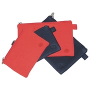 Amy Butler Lea Techno Pouches in Tomato; Large