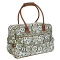 Amy Butler Dream Traveler Cotton Duffel; Temple Doors Tobacco