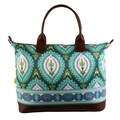 Amy Butler Marni Cotton Gym Duffel; Imperial Paisley Clover