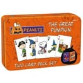 USAopoly Charlie Brown: Great Pumpkin Twin Pack Card Set