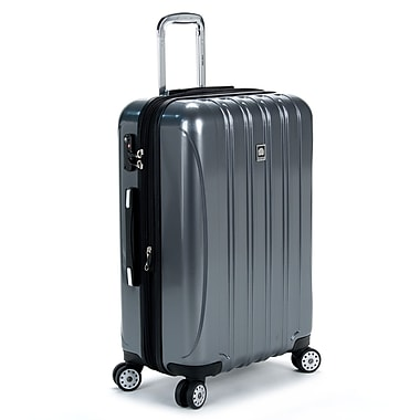 Delsey Helium Aero 25'' Expandable Spinner Trolley; Titanium