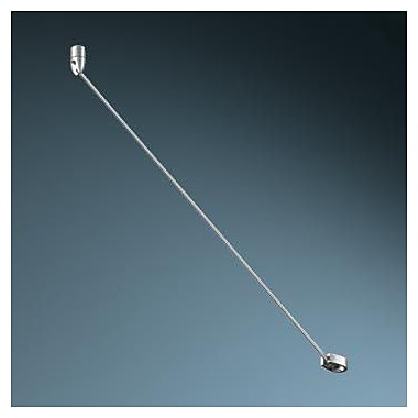 Bruck High Line Tie Rod Support I; Matte Chrome