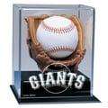 Caseworks International MLB Soft Glove Baseball Display; San Francisco Giants