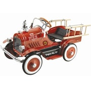 Big Toys Kalee Pedal Fire Truck