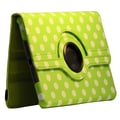 Bargain Tablet Parts Ipad Mini Polka Dot Rotating Case; Green