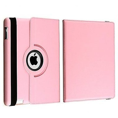 Bargain Tablet Parts Ipad 2 and Ipad 3 Rotating Case; Pink
