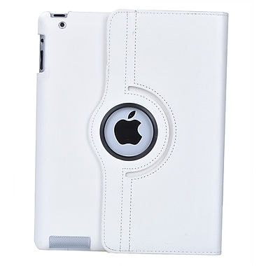 Bargain Tablet Parts Ipad 2 and Ipad 3 Rotating Case; White