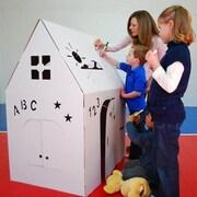 Easy Playhouse Cardboard Playhouse