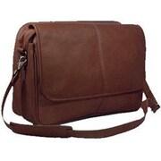 David King Messenger Bag; Caf  / Dark Brown