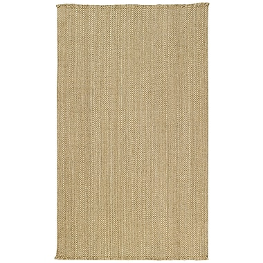 Capel Nags Head Beige Area Rug; Vertical Stripe 7' x 9'