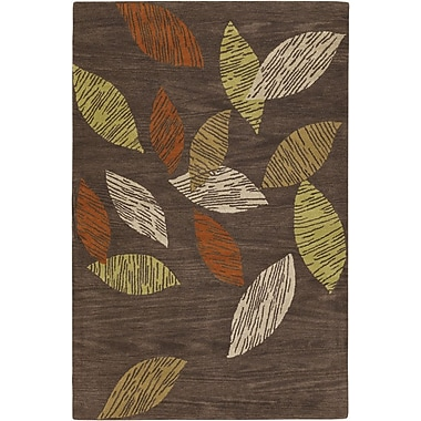Chandra Aschera Brown Area Rug; 2' x 3'