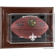 Mounted Memories NFL Wall Mounted Logo Football Case; New Orleans Saints