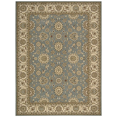 Nourison Persian Crown Blue Area Rug; 5'3'' x 7'4''