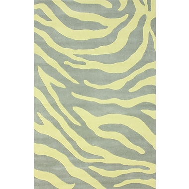 nuLOOM Earth Yellow Madagascar Area Rug; 5' x 8'