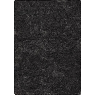 Chandra Edina Grey Area Rug; 5' x 7'6''