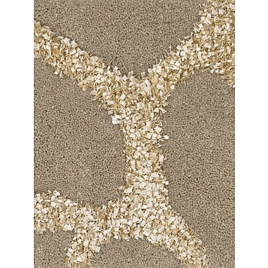 Chandra Liberty Brown Rug; 2' x 3'
