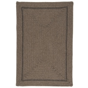 Colonial Mills Shear Natural Latte Area Rug; 3' x 5'