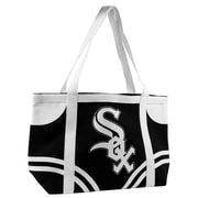 Little Earth MLB Canvas Tailgate Tote Bag; Chicago White Sox
