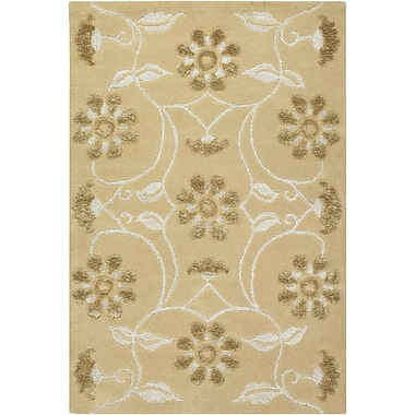 Chandra Finca Brown/Tan Area Rug; 5' x 7'6''