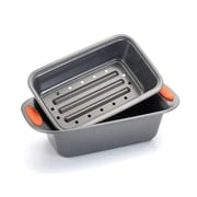 Rachael Ray Yum-O Nonstick 2 Piece Meat Loaf Pan Set