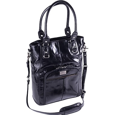 Clark & Mayfield Irvington Vintage Satchel; Black