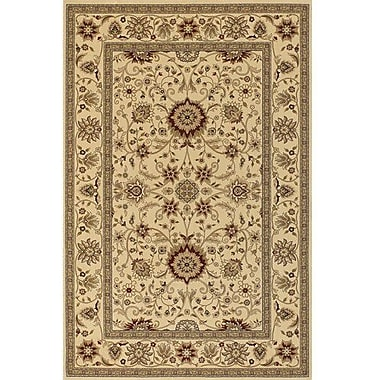 Chandra Diamond Brown & Tan Oriental Area Rug; 1'11'' x 3'7''
