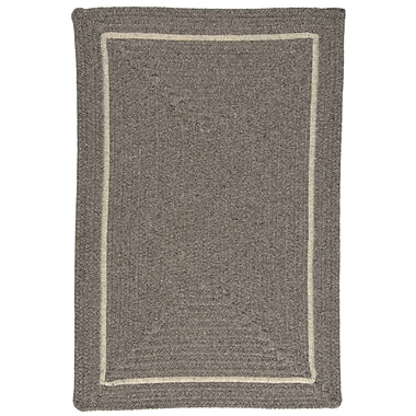 Colonial Mills Shear Natural Rockport Gray Area Rug; 4' x 6'