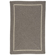 Colonial Mills Shear Natural Rockport Gray Area Rug; 2' x 3'