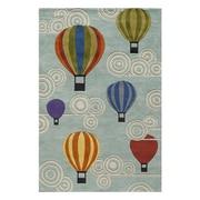 Momeni Lil' Mo Lil Mo Whimsy Hot Air Balloons Kids Rug; 8' x 10'