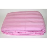 Cotton Loft 300 Thread Count All Natural Down Alternative 100pct Cotton Filled Throw; Dark Pink