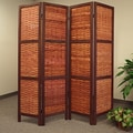Proman 67'' x 61'' Saigon Folding Screen 4 Panel Room Divider