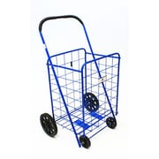 Trimmer Large Shopping / Grocery Cart; Blue