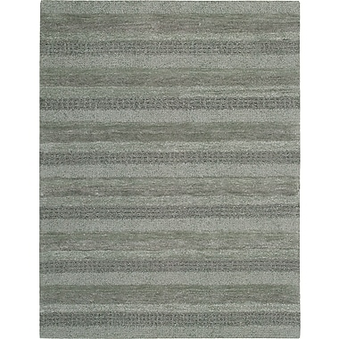 Calvin Klein Rugs Sequoia Boucle Stripe Stream Area Rug; 5'3'' x 7'5''