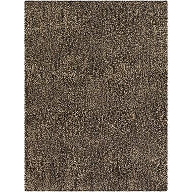 Chandra Jennifer Taupe Area Rug; 8' x 10'