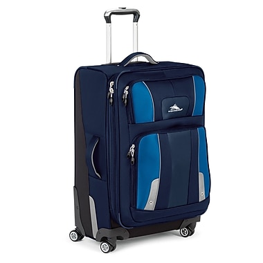 High Sierra Endeavor 25'' Spinner Suitcase; True Navy / Royal Cobalt