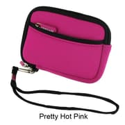 rooCASE Neoprene Sleeve Carrying Case for Digital Camera; Pretty Hot Pink