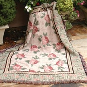 Manual Woodworkers & Weavers Warm Embrace Tapestry Cotton Throw