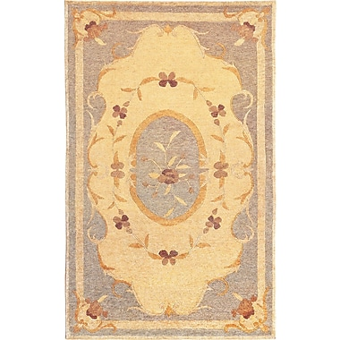 Abbyson Living Oceans of Time Himalayan Sheep Gold Indoor/Outdoor Area Rug; 9' x 12'