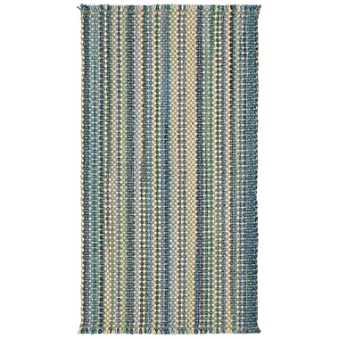Capel Nags Head Carribbean Area Rug; Vertical Stripe 8' x 11'