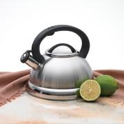Creative Home Alexa 3-qt. Whistling Tea Kettle; Stainless Steel