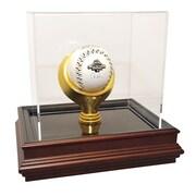 Caseworks International Boardroom Base Single Baseball Display Case; No