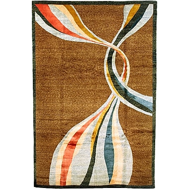 Abbyson Living Silhouette Himalayan Sheep Brown Indoor/Outdoor Area Rug; 9' x 12'