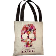 One Bella Casa Oliver Gal Bed of Roses Tote Bag