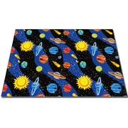 Kid Carpet Solar System Kids Rug; 8' x 12'