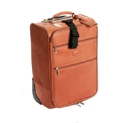 Claire Chase Classic 22'' Pullman Rolling Carry On; Saddle
