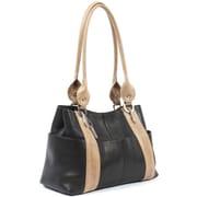 Claire Chase Marita Lady's Tote Bag; Black