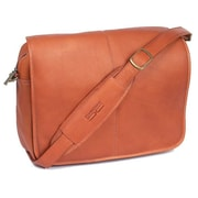 Claire Chase Briefcases Messenger Bag; Saddle